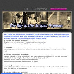 Chapter Activities - Boy in the Striped Pyjamas