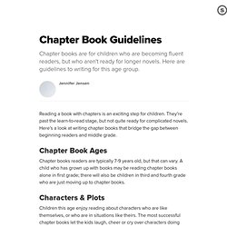 how to write a chapter critique for a fiction novel