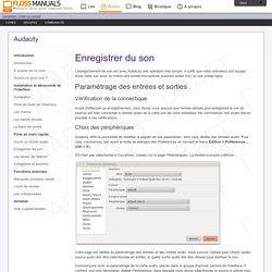 Enregistrer-Du-Son / Audacity