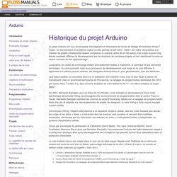 /chapter: Historique-Du-Projet-Arduino / Arduino
