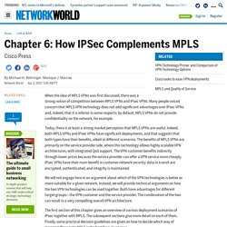 Chapter 6: How IPSec Complements MPLS