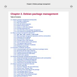 Chapter 2. Debian package management