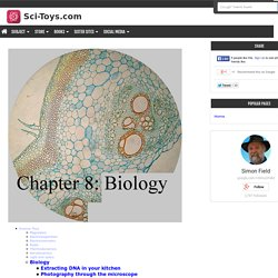 Chapter 8: Biology: Photography through the microscope