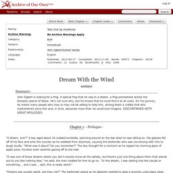 Dream With the Wind - saintjoy
