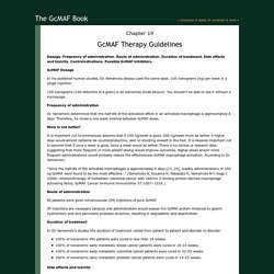 Chapter 19: GcMAF Therapy Guidelines
