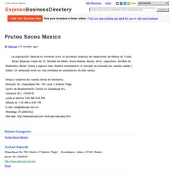 Saborati Frutos Secos Mexico