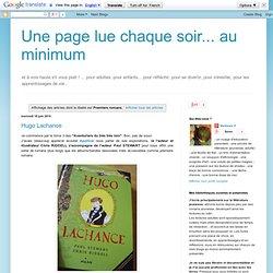 Google-2014-08-06) - Une page lue chaque soir... au minimum: Premiers romans