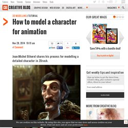 How To: Model Character for Animation