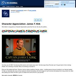 ontd_startrek: Character Appreciation: James T. Kirk