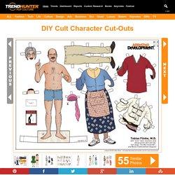 DIY Cult Character Cut-Outs : Arrested Development Paper Dolls