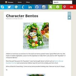 Character Bentos