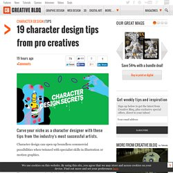 19 character design tips from pro creatives