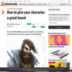 How to give your character a great beard