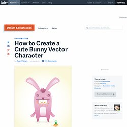 How to Create a Cute Bunny Vector Character