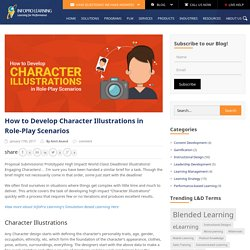 How to Develop Character Illustrations in Role-Play Scenarios