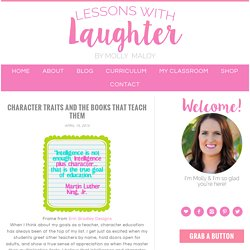 Character Traits and the Books that Teach Them - Lessons With Laughter