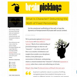 What Is Character? Debunking the Myth of Fixed Personality