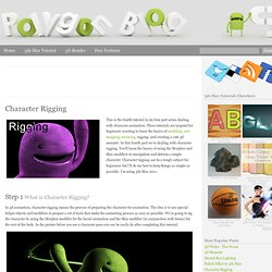 Character Rigging « Polygon Blog 3D – 3ds Max Tutorials