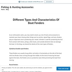 Want to Know About Boat Fenders Covers?