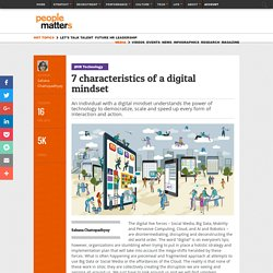 7 characteristics of a digital mindset