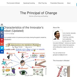 8 Characteristics of the Innovator's Mindset (Updated)