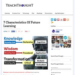 7 Characteristics Of Future Learning