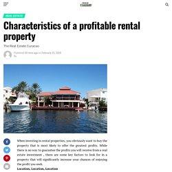 Characteristics of a profitable rental property – News Of Nigeria
