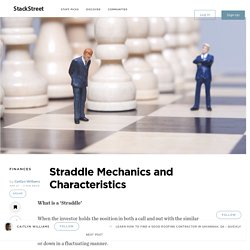 Straddle Mechanics and Characteristics – StackStreet