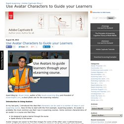 Use Avatar Characters to Guide your Learners