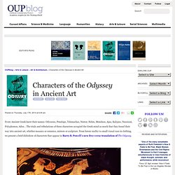 Characters of the Odyssey in Ancient Art