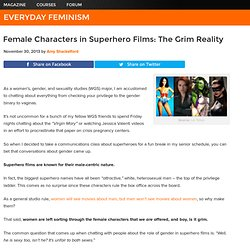 Female Characters in Superhero Films: The Grim Reality