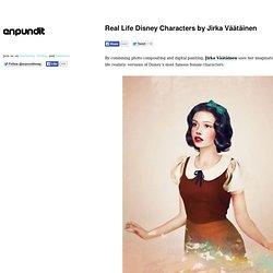 Real Life Disney Characters by Jirka Väätäinen