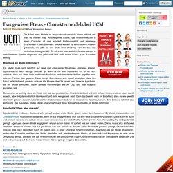 Das gewisse Etwas - Charaktermodels bei UCM by UCM Management