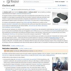 EN_WIKIPEDIA - Charbon actif.