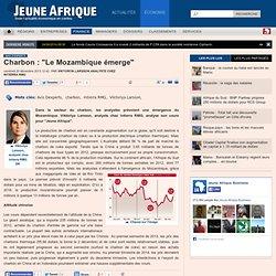 """Charbon : """"Le Mozambique émerge"""""""