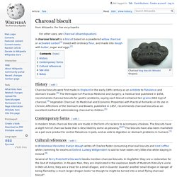 EN_WIKIPEDIA - Charcoal biscuit.