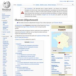 Charente (département)