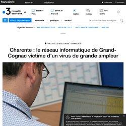 Charente : le réseau informatique de Grand-Cognac victime d'un virus de grande ampleur