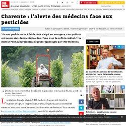 Charente : l'alerte des médecins face aux pesticides