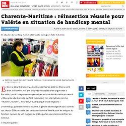 Charente-Maritime : réinsertion réussie pour Valérie en situation de handicap mental
