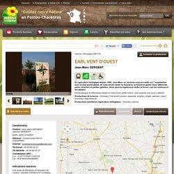 Poitou-Charentes : EARL VENT D'OUEST - Contact & Plan d'accès - chouppes, Vienne (86)