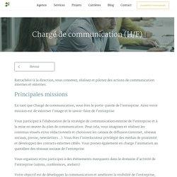 Chargé de communication (H/F)