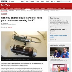 Can you charge double and still keep your customers coming back? - BBC News