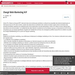 Chargé Web Marketing H/F - Action Pin - SudouestJob