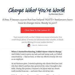 Charge What You're Worth - Learn how to raise your prices