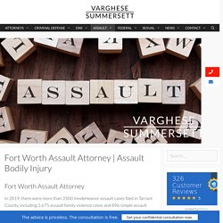Charged with Assault Bodily Injury?
