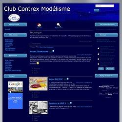 Club Contrex Modélisme Bâteau Pop Pop