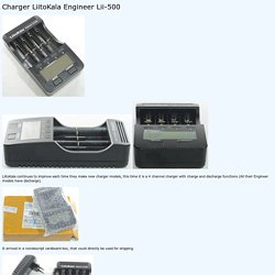 Review of Charger LiitoKala Engineer Lii-500