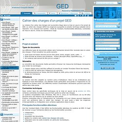 cahier des charges ged - acquisition des documents