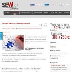 Cahier des charges pour la conception de votre site internet